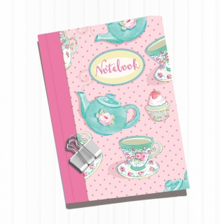 Notizbuch Tea Time A6 liniert