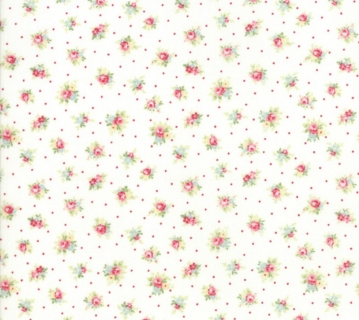 Amberley Little Rose Linen White