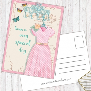 Postkarte Have a very special Day