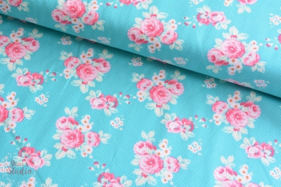 Tanya Whelan Darling Meadow Little Roses Teal
