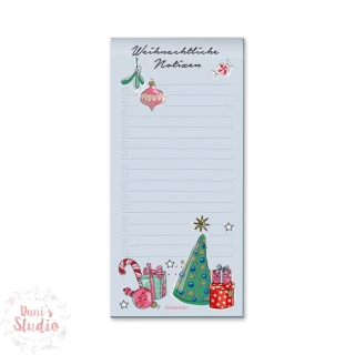 Krima and Isa Notepad Christmas