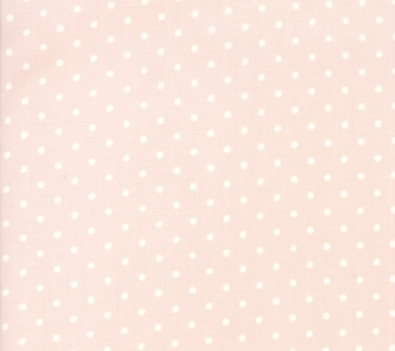 Moda Rue 1800 by 3 Sisters Polkadots Pastel Rose Pink