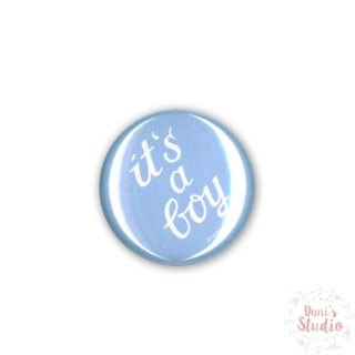 Button Badge It's a Boy
