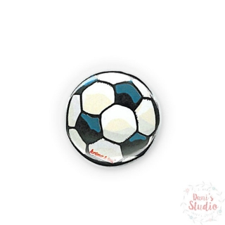 Button Badge Soccer