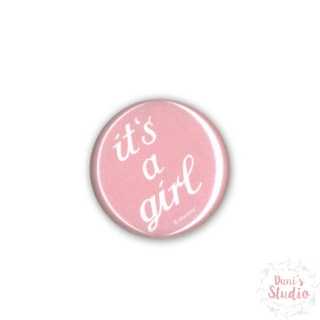 Button Badge It's a Girl
