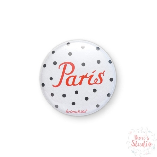 Button Badge Paris