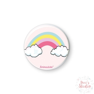 Button Badge Rainbow