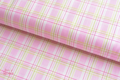 Zoey's Garden Faux Plaid Pink