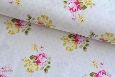 Tanya Whelan Hanky Rose Yellow