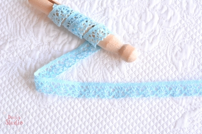 Lace in Light Blue