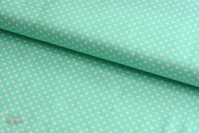 Lecien Color Basics Polkadots Mint
