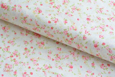 Guernsey Paisley Pastell Rosa Weiß