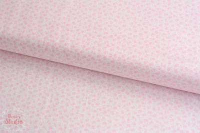 Guest Room Floral Dots Pastel Pink