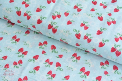 High Tea Collection Strawberries Cottage Blau 18,40 EUR/m
