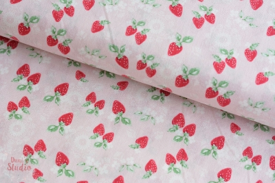 High Tea Collection Strawberries Pink