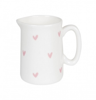 Sophie Mini Jug Heart Pink