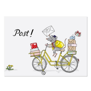 Postcard A6 Post Mouse