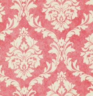 Reststück Verna Mosquera French Damask Flamingo