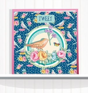 Greeting Card Bluebird
