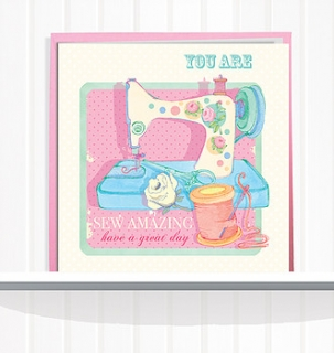Greeting Card Sew Amazing