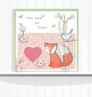Greeting Card You are so Foxy